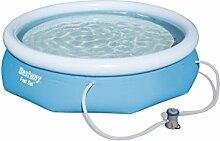 Bestway Fast Set Pool Set mit Filterpumpe, 274 X 76cm
