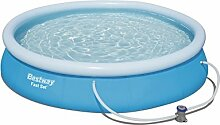 Bestway Fast Set Pool Set mit Filterpumpe 366x76cm