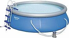 Bestway Fast Set Pool Set mit Filterpumpe +