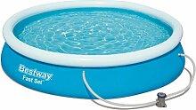 Bestway Fast Set Pool Set, rund 366x76 cm mit
