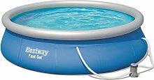 Bestway Fast Set Pool Set, rund 396x84 cm mit