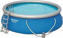 Bestway Fast Set Pool Set, rund 457x122 cm mit
