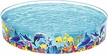 Bestway Fill 'N Fun Odyssey Pool, Planschbecken 244x46 cm