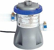 Bestway Flowclear 330gal/stunde Filter Pumpe + Patrone - Für Schwimmbecken bis zu 3,7 m