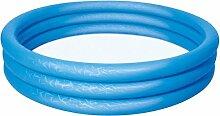 Bestway Kinder Garten Pool Swimmingpool 102x25 Planschbecken Schwimmbecken Farbe Blau