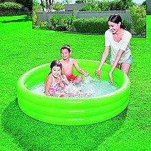 Bestway Play Pool Schwimmbecken rund 122 x 25cm grün