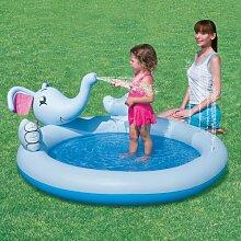 Bestway Pool Elephant Kinder Kleine 168x 152x 65Spiel Aufblasbare 53034.
