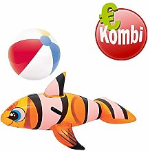 Bestway Schwimmtier Clown Fish plus aufblasbarer