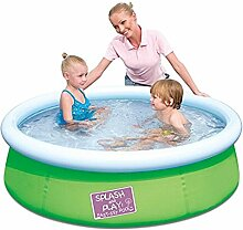 Bestway Splash and Play Fast Pool in grün, Durchmesser 152 cm