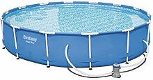 Bestway Steel Pro Frame Pool Set rund, mit