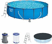 Bestway Steel Pro MAX Frame Pool Set, rund 457x107