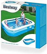 Bestway Swimmingpool 2,62 x 1,75m Schwimmbecken Kinder Pool Garten Familienpool Planschbecken