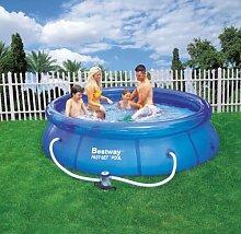 Bestway Swimmingpool Quick Up Pool 305cm inkl. Filterpumpe