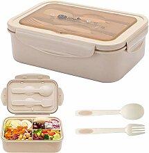 BESTZY Bento Box Kinder Lunchbox Unterteilung