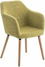 Besucherstühle, Konferenzstuhl, Wartezimmerstühle, Esszimmerstuhl, Stühle, Stapelstuhl, Küchenstuhl, Wartestuhl, Messestuhl Küchenstuhl Stoff grün #Picard