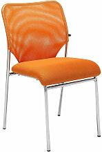 Besucherstuhl Klint V2-orange