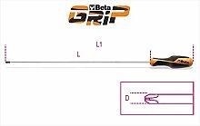 Beta-Werkzeuge 1262PH0x 60K Schraubendreher in Blister–Schwarz/Orange