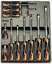 Beta-Werkzeuge 2424Hartschale Thermogeformte Tablett mit Werkzeug Sortimen