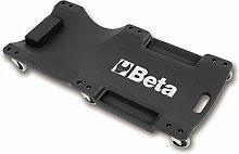 Beta-Werkzeuge 3003Creeper aus schlagfestem Kunststoff, schwarz/orange