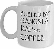 Betankt von Gangsta Rap und Kaffeetasse