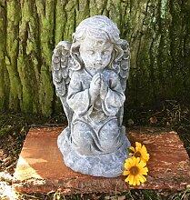 Betende Engel Skulptur Dekoration Grab - Tiergrab