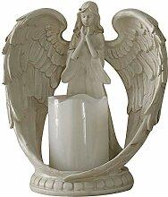 Betender Engel Statue, Flügel Engel Figur Mit
