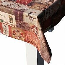 """beties """"Advents-Poesie"""" Tischdecke ca. 140x260 cm in großer Sortiments- und Größenauswahl - vorweihnachtliche Stimmung für alle Lebens- und Einrichtungsstile"""