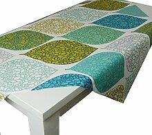 beties Momente Tischdecke ca. 110x110 cm in interessanter Größenauswahl hochwertig & angenehm 100% Baumwolle Farbe (applemint)
