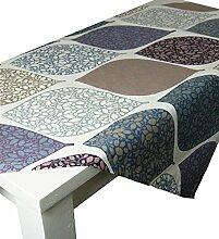 beties Momente Tischdecke ca. 140x240 cm in interessanter Größenauswahl hochwertig & angenehm 100% Baumwolle Farbe (hortensie)