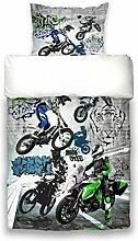 beties Motocross Graffiti Jugend Wende Bettwäsche