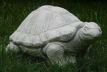 Beton Figur Schildkröte klein H 11 cm Dekofigur und Gartenfigur
