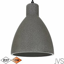 Beton-Lampe Beton-Leuchte LED E27 Pendel-Lampe