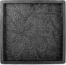Beton PP Gießform - Schalungsform - Bodenplatte - Betonform - Terrassenplatte - Gehwegplatte in Bruchsteinoptik
