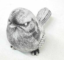 Beton Vogel I ca 15 x 11 cm groß I Gartendeko I Beetdeko