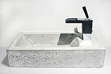 Beton Waschbecken 46x25x10 cm