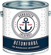 Betonfarbe SEIDENMATT Steingrau RAL 7030 Grau