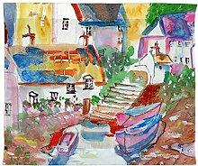 Betsy Drake Boote bei Schritte Wand-Außenleuchte