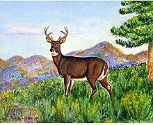 Betsy Drake Deer in Gebirge Wand-Außenleuchte
