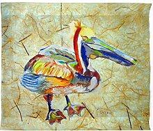 Betsy Drake Heathcliff Pelican Wand-Außenleuchte