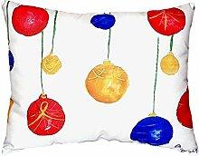 Betsy Drake NC294 Weihnachtskissen, ohne Kordel,