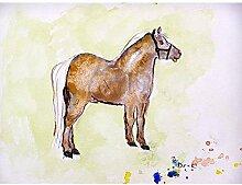 Betsy Drake Shetland Pony Wand-Außenleuchte