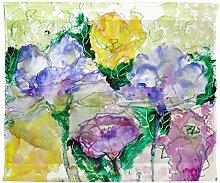 Betsy Drake Watercolor Garden Wand-Außenleuchte