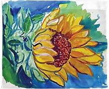 Betsy Drake Windy Sonnenblume Wand-Außenleuchte