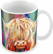 Betsy34Sophia Baby Highland Cow Mug von Sue