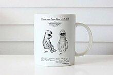 Betsy34Sophia Puppet Patent Mug Jim Henson Muppet