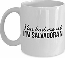 Betsy34Sophia Salvadorianischer Becher Sie Hatten