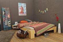 Bett 120x220cm Überlänge, Steckbett metallfrei,