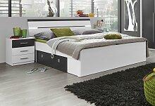 Bett 180x200 cm Höhe Bettseite: 46 cm, ohne