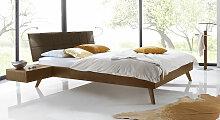 Bett Andros Massivholzbett stabil 120x200 cm Buche