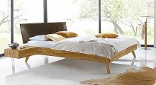 Bett Andros Massivholzbett stabil 120x200 cm